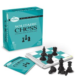 ThinkFun Solitaire Chess Brain Fitness