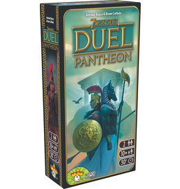 Repos Production 7 Wonders Duel Pantheon expansion