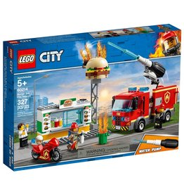LEGO LEGO City Burger Bar Fire Rescue