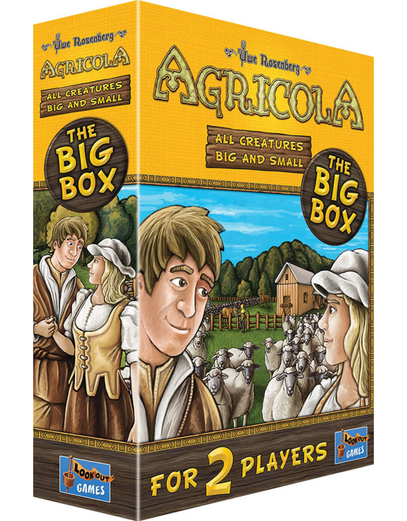 Lookout Games Agricola: All Creatures Big and Small – The Big Box