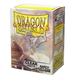Dragon Shield DS Matte Non-Glare Clear Card Sleeves (100)