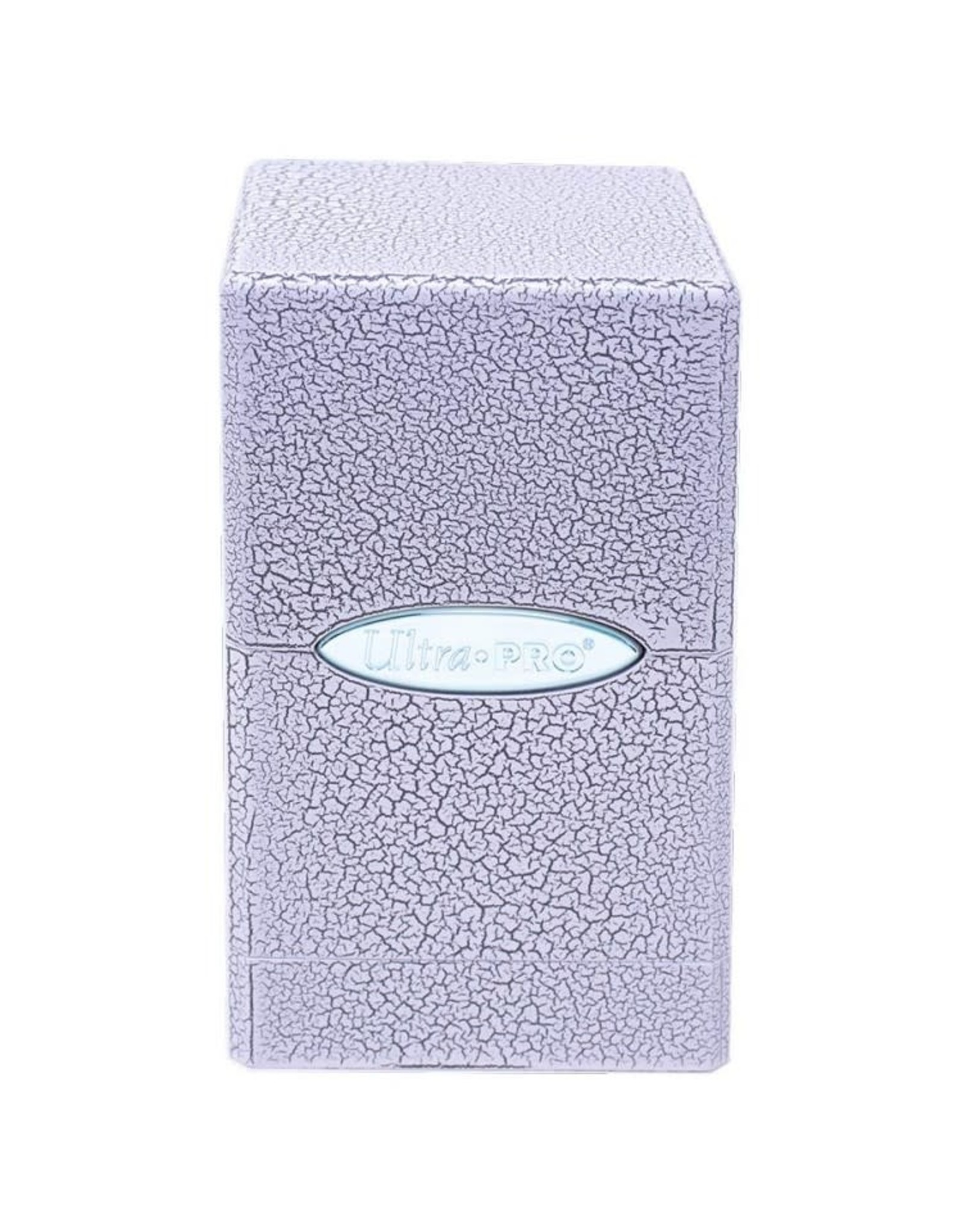 Ultra Pro Ultra Pro: Satin Tower Ivory Crackle Deck Box