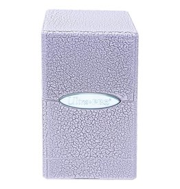 Ultra Pro Satin Tower Ivory Crackle Deck Box