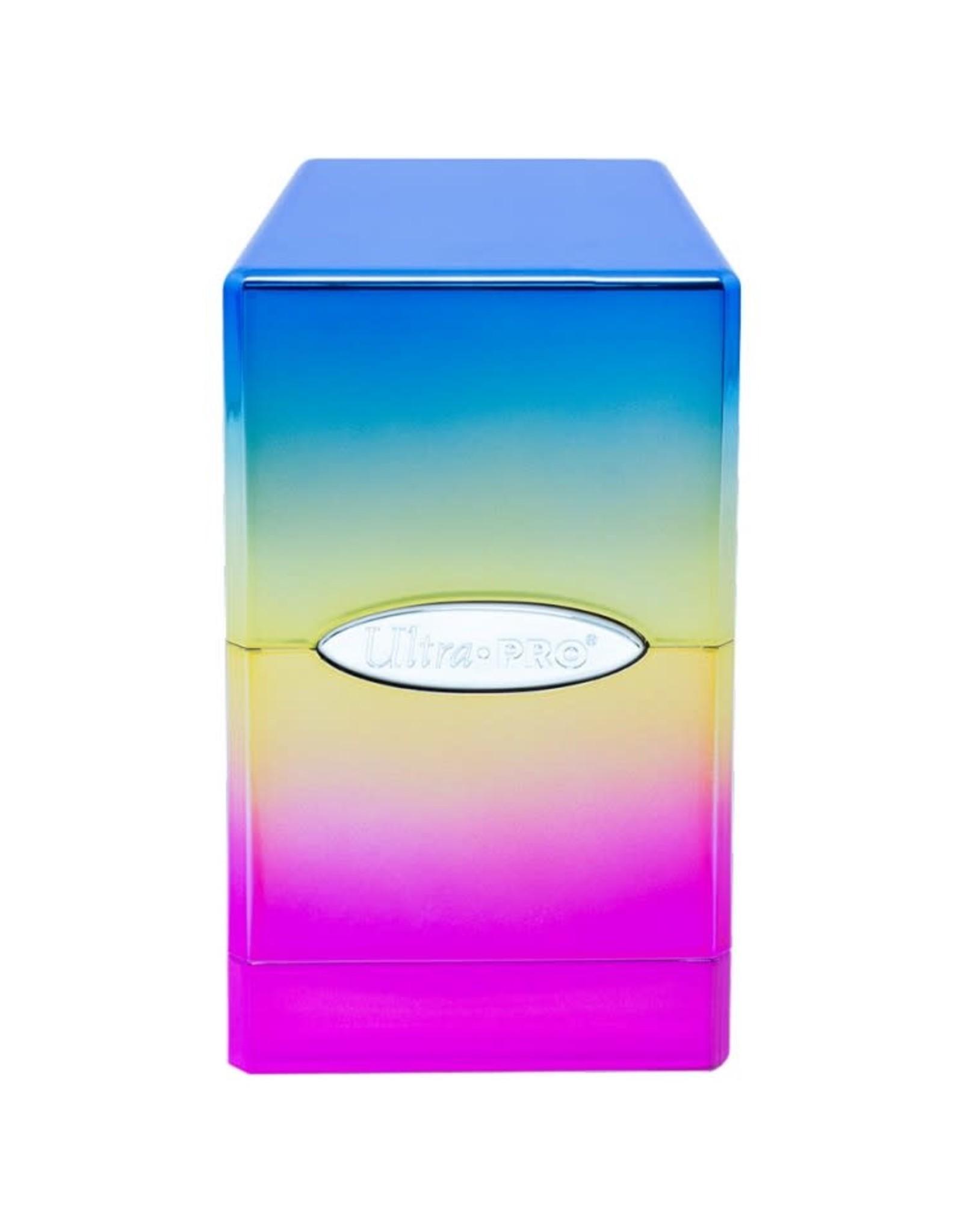 Ultra Pro Ultra Pro: Satin Tower Hi-Gloss Rainbow Deck Box