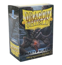 Dragon Shield DS Matte Black Card Sleeves (100)