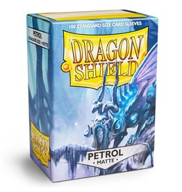 Dragon Shield DS Matte Petrol Card Sleeves (100)