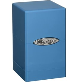 Ultra Pro Satin Tower Light Blue Deck Box