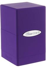 Ultra Pro Ultra Pro: Satin Tower Purple Deck Box