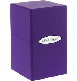 Ultra Pro Satin Tower Purple Deck Box