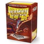 Dragon Shield DS Matte Crimson Card Sleeves (100)