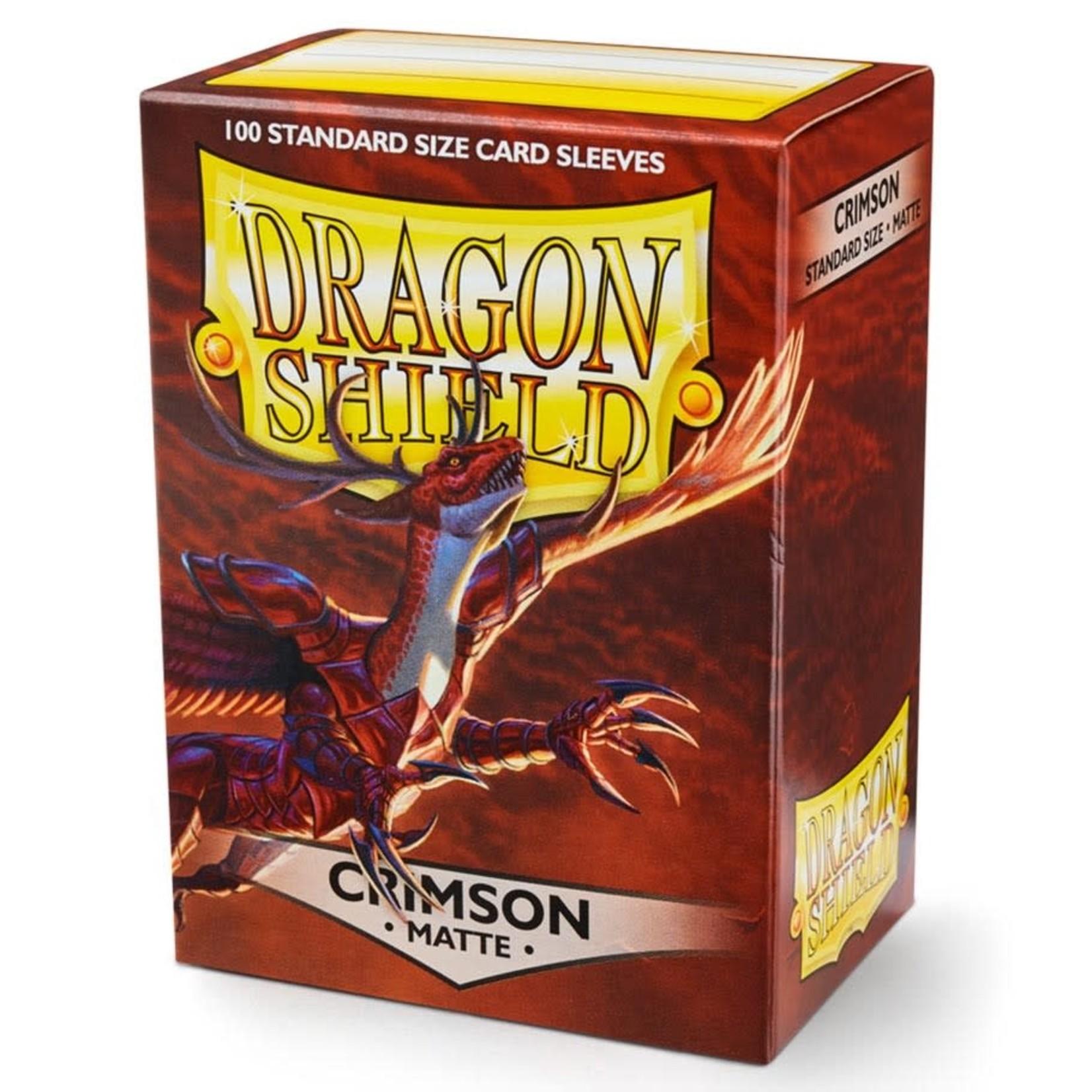 Dragon Shield Dragon Shield Matte Crimson Card Sleeves (100)