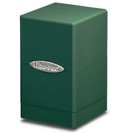 Ultra Pro Satin Tower Green Deck Box