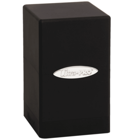 Ultra Pro Satin Tower Black Deck Box