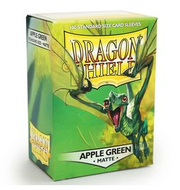Dragon Shield DS Matte Apple Green Card Sleeves (100)