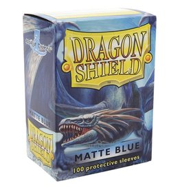 Dragon Shield DS Matte Blue Card Sleeves (100)