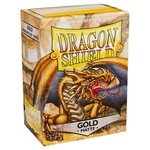 Dragon Shield DS Matte Gold Card Sleeves (100)