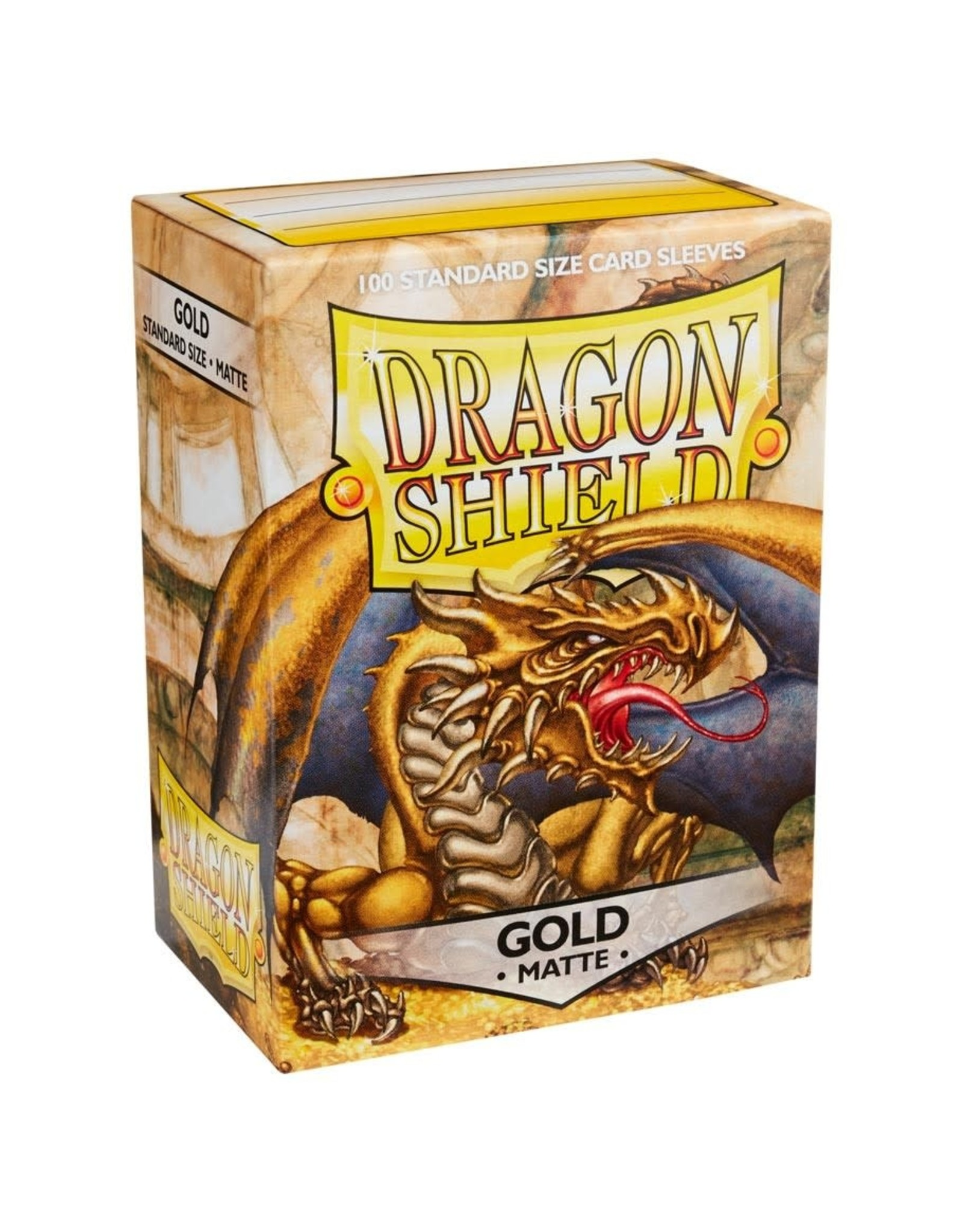 Dragon Shield Dragon Shield Matte Gold Card Sleeves (100)