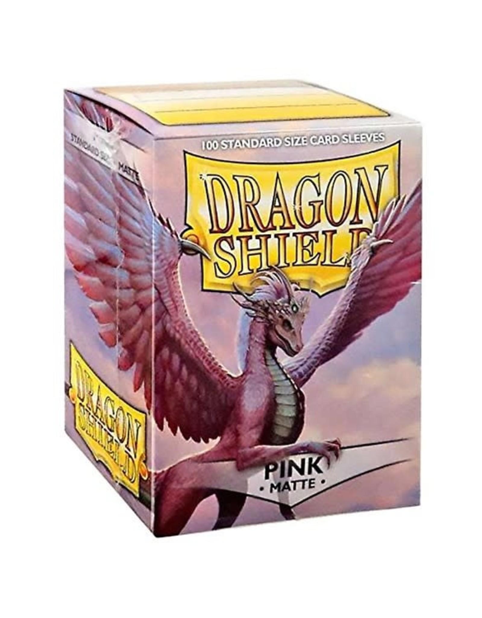 Dragon Shield Dragon Shield Matte Pink Card Sleeves (100)