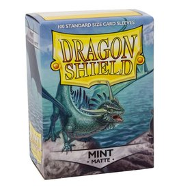Dragon Shield DS Matte Mint Card Sleeves (100)