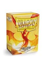 Dragon Shield Dragon Shield Matte Yellow Card Sleeves (100)