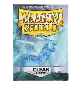 Dragon Shield DS Matte Clear Card Sleeves (100)