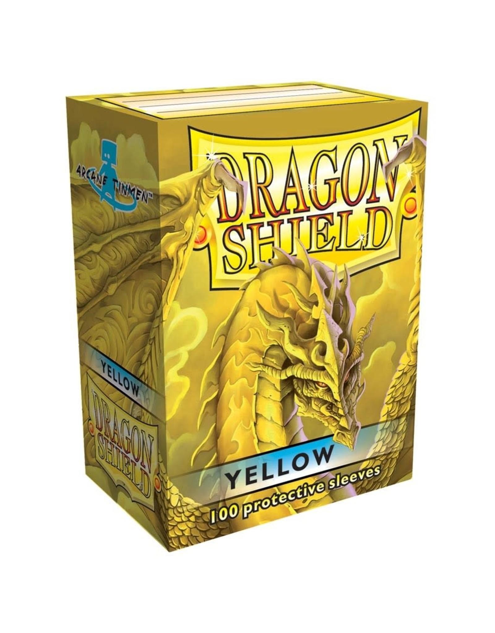 Dragon Shield Dragon Shield Yellow Card Sleeves (100)