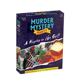 University Games Murder Mystery Party: A Murder on the Grill