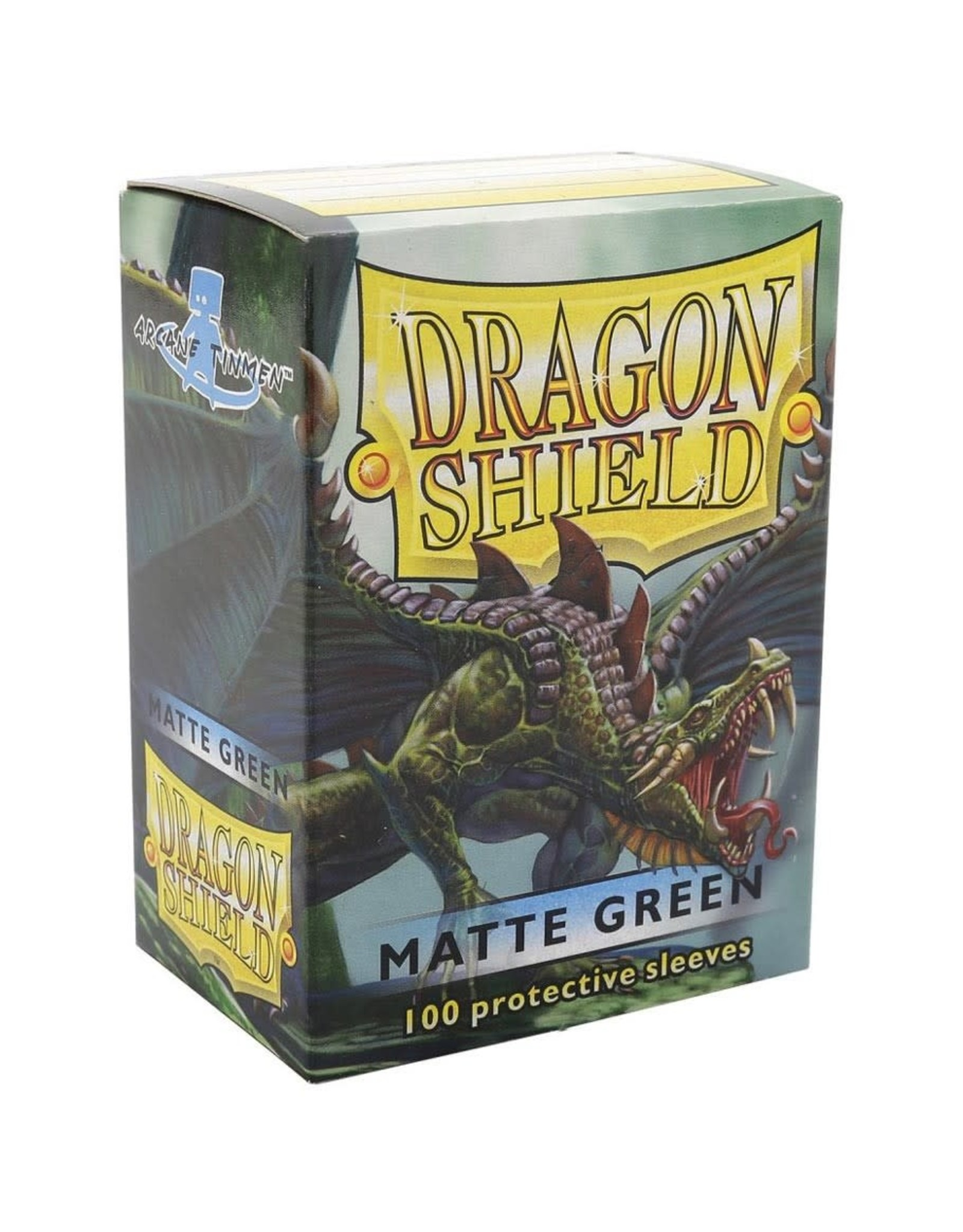 Dragon Shield Dragon Shield Matte Green Card Sleeves (100)