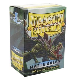 Dragon Shield DS Matte Green Card Sleeves (100)