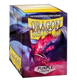 Dragon Shield DS Matte Purple Card Sleeves (100)