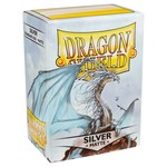 Dragon Shield DS Matte Silver Card Sleeves (100)