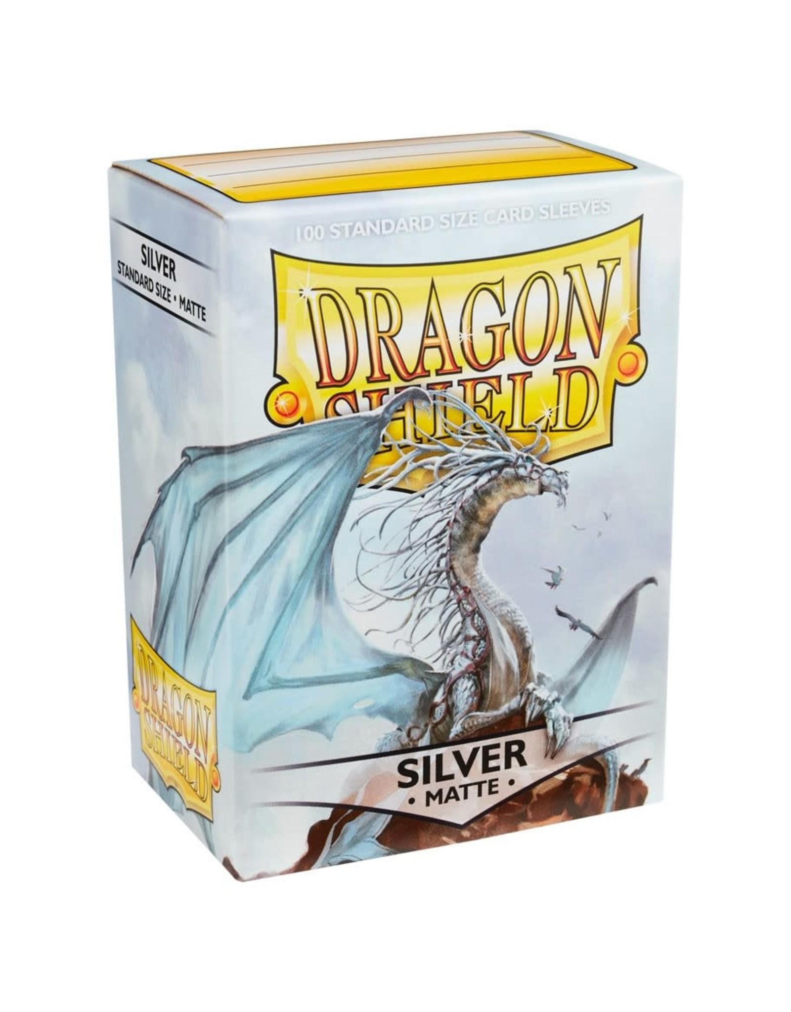 Dragon Shield Dragon Shield Matte Silver Card Sleeves (100)