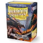 Dragon Shield DS Matte Non-Glare Black Card Sleeves (100)