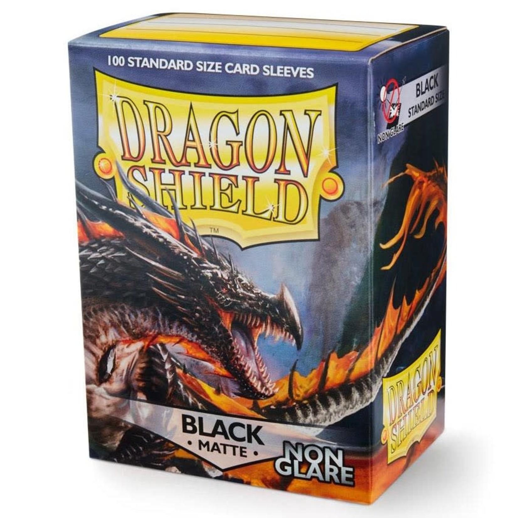 Dragon Shield Dragon Shield Matte Non-Glare Black Card Sleeves (100)
