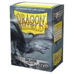 Dragon Shield DS Matte Non-Glare Silver Card Sleeves (100)