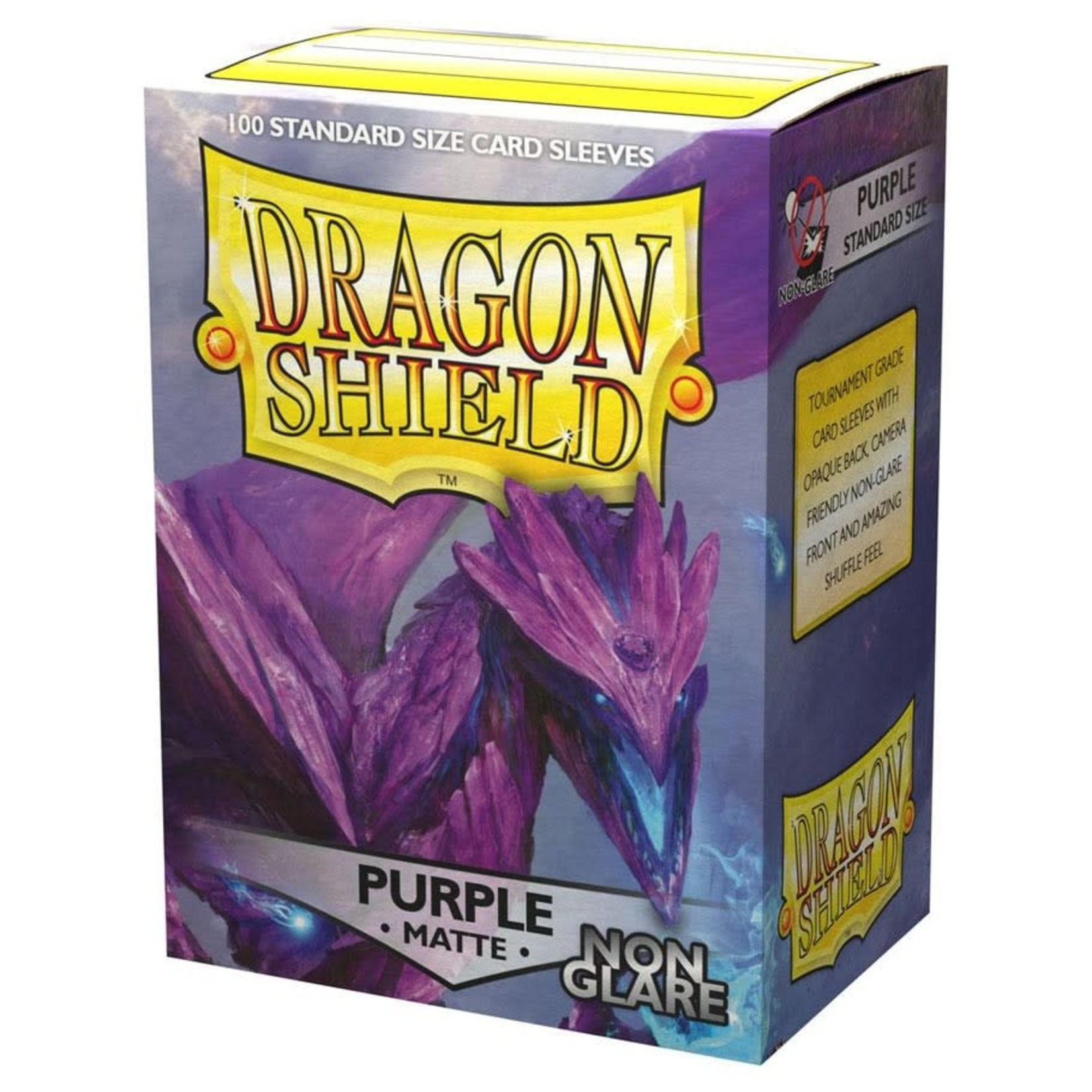 Dragon Shield Dragon Shield Matte Non-Glare Purple Card Sleeves (100)