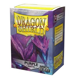 Dragon Shield DS Matte Non-Glare Purple Card Sleeves (100)