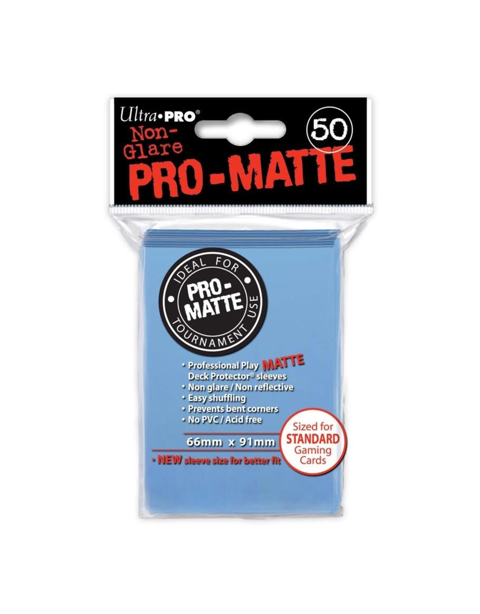 Ultra Pro Pro-Matte Light Blue Card Sleeves (50)
