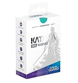 Ultimate Guard Katana Sleeves Standard Turquoise (100)