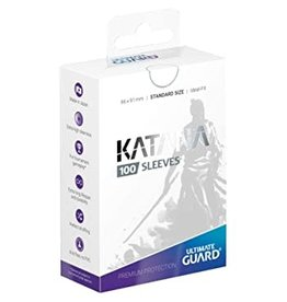 Ultimate Guard Katana Sleeves Standard White (100)