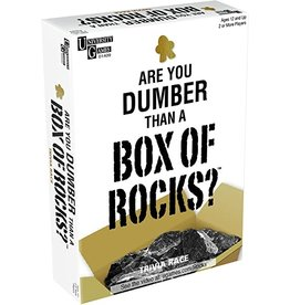 University Games Are You Dumber Than A Box of Rocks?