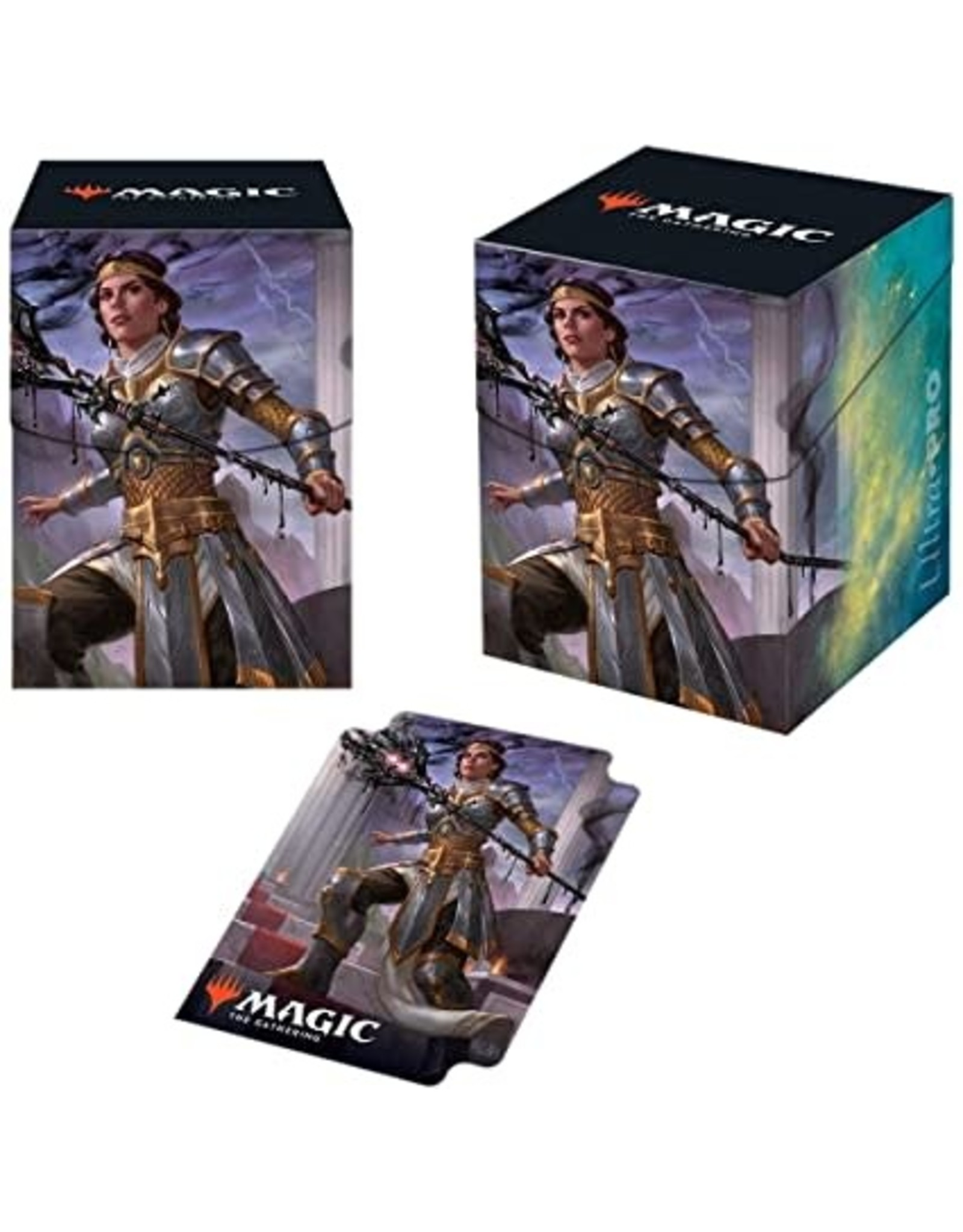 Ultra Pro Deck Box MTG Theros Beyond v3 - Elspeth Suns Nemesis