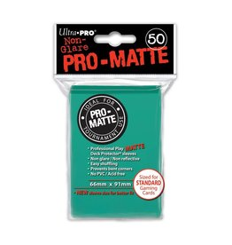 Ultra Pro Pro-Matte Aqua Card Sleeves (50)