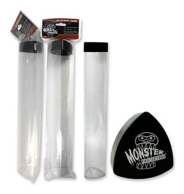 Monster Playmat Tube Black
