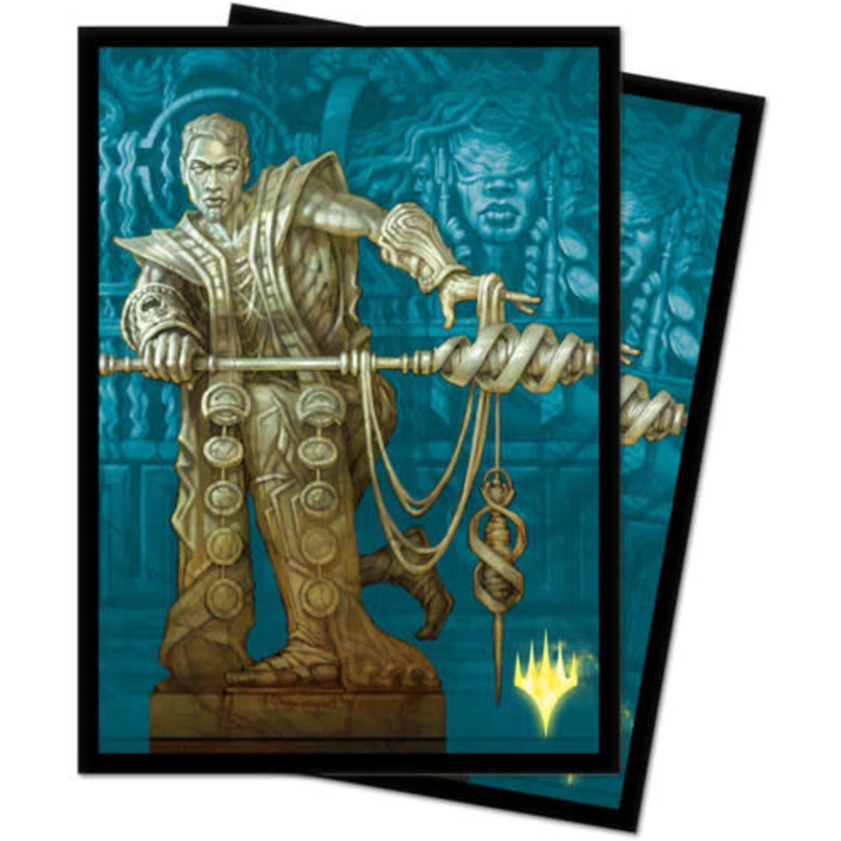 Ultra Pro Card Sleeves (100) MTG Theros Beyond Death Alt Art  v2 - Calix, Destiny's Hand