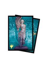 Ultra Pro Card Sleeves (100) MTG Theros Beyond Death Alt Art v3 - Elspeth, Sun's Nemesis