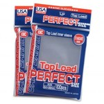 KMC KMC Perfect Fit Clear USA Card Sleeves (100)