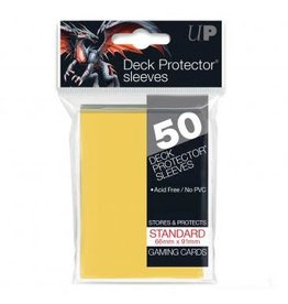 Ultra Pro Card Sleeves Solid Yellow (50)