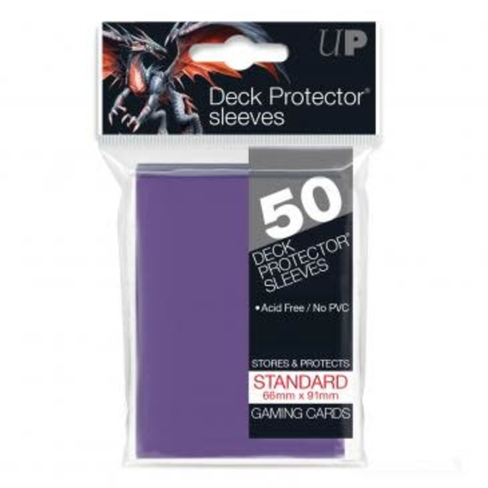 Ultra Pro Card Sleeves Solid Purple (50)