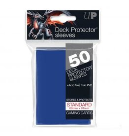 Ultra Pro Card Sleeves Solid Blue (50)